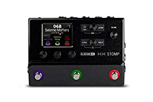 Line 6 Electric Guitar Multi Effect, Black (HX Stomp)