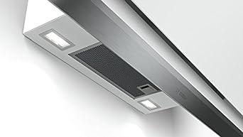89.4 cm Metallfettfilter sp/ülmaschinengeeignet Dunstabzugshaube//Kaminhaube Bosch DWK98PR20 Serie 8