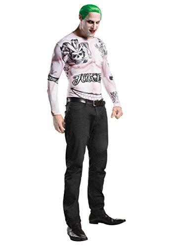 [Rubies Suicide Squad Joker Costume Kit XL] (Joker Makeup Kit)