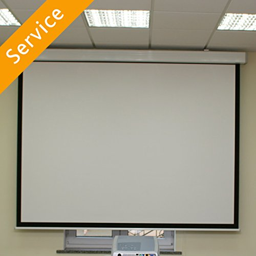 Projector Screen Installation - First Time - Motorized - Hard Ceiling