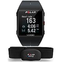 Relógio com GPS Multiesporte, Polar, V800, Relógio para Esportes com GPS, Preto, Único