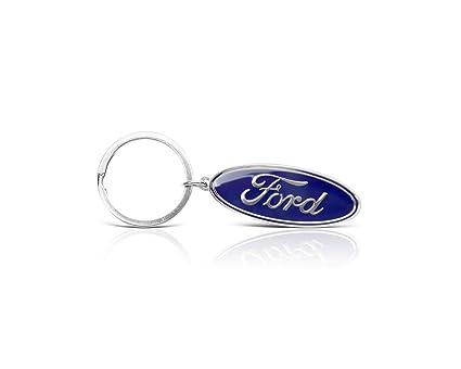 Ford Lifestyle Collection 35020798 - Llavero con logotipo ovalado de Ford