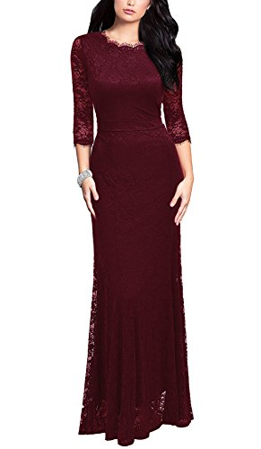 REPHYLLIS Womens Vintage Bridesmaid Wedding