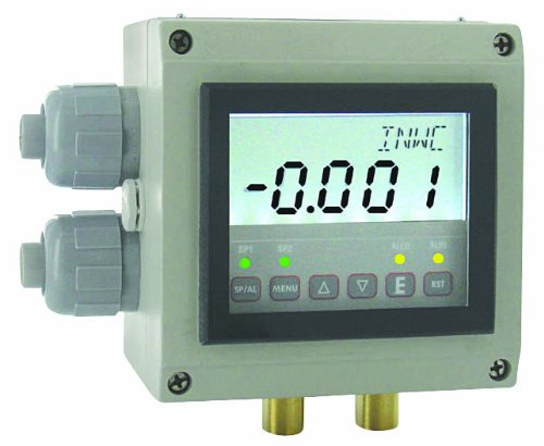 Dwyer Digihelic Series DHII Differential Pressure Controller, Range 1''WC