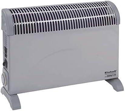 Einhell Konvektor CH 2000/1 TT (230 V, 2000 Watt max., 3 Heizstufen, stufenl. Thermostatregler, Befestigung als Wand- oder Bodenheizung)