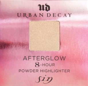 Urban Decay Afterglow 8 Hour Powder Highlighter Travel Size (Sin) (Afterglow Shimmer)