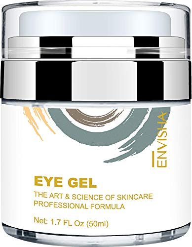 41CTPz76tTL - Wumal Eye Gel Cream for Appearance of Dark Circles, Puffiness, Wrinkles and Bags - Effective Anti Aging Eye Cream for Men and Women