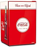 Husky 110L Solid Door Coca Cola Bar Fridge