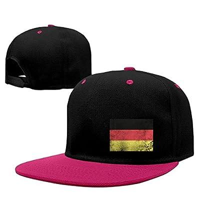 German Flag Germany Deutschland Distressed Hip Hop Snapback Baseball Cap Adjustable Snapback Hats from Brecoy