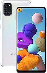 Smartphone Samsung Galaxy A21s, 64GB - Branco