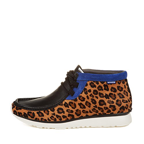 Clarks Mens Tawyer Mid Atmos Pelle Di Leopardo