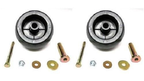 The ROP Shop (2) Deck Wheel Roller Kits for Stens 210-169 Rotary 10301 Mowers Tractors ZTRs