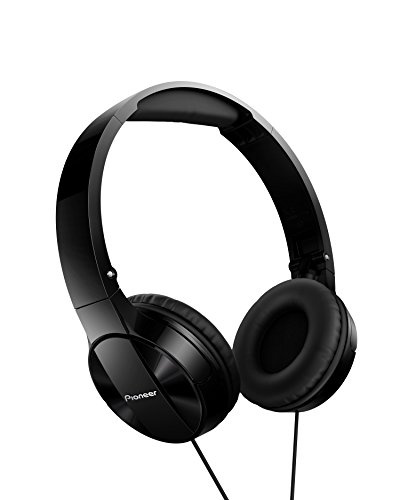 Pioneer MJ503 On-Ear Headphones with cable (high and balanced sound quality,...