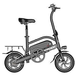 Bicicleta Electrica Plegable Adulto Montaña Litio 36V Ruedas Doble Freno Disco E-Bike