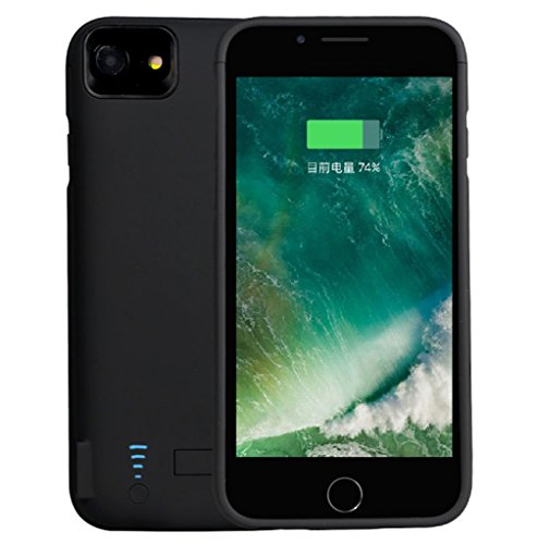 RUNSY iPhone 7 Plus / 6S Plus / 6 Plus Battery Case, 8200mAh Rechargeable Extended Battery Charging Case, External Battery Charger Case, Backup capability Bank event (5.5 inch)