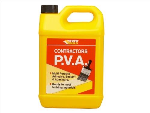 Everbuild, Sigillante multiuso PVA, 5 kg CONPVA5-EBD