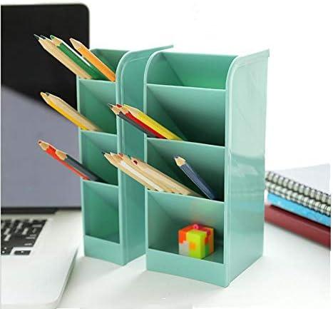 Sgualie Aufbewahrungsbox aus Kunststoff, transparent, 4 Farben blau