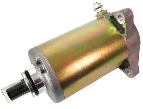 (Ricks Motorsport Electrics Starter Motor - 61-302 for Suzuki Quad Runner 1985-1986 LT250E, 1985-1986 LT250EF, 1987-1989)