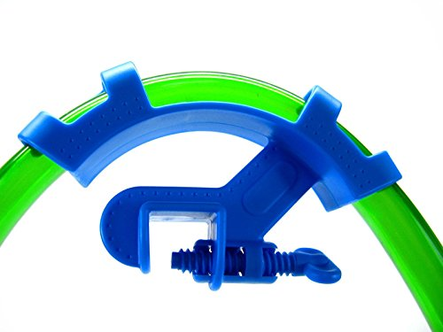 Blue Fish Aquarium Filtration Water Pipe Filter Hose Holder for Mount Tube Tank (Eliminator Fuel System)
