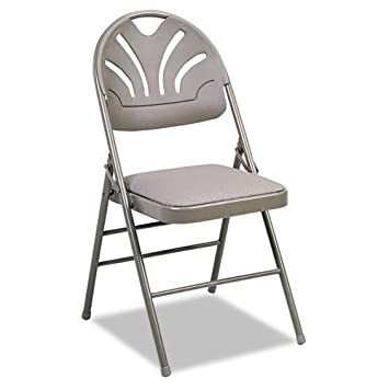 Wondrous Amazon Com Fan Back Folding Chair Set Of 4 Kitchen Dining Ibusinesslaw Wood Chair Design Ideas Ibusinesslaworg