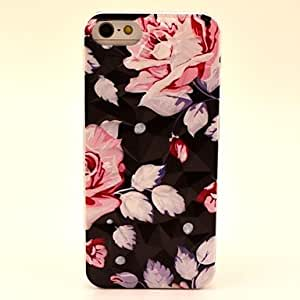 (CASEI)Hi-Q sold out Novely Flowers Pattern Hard Case for iPhone 5/5S