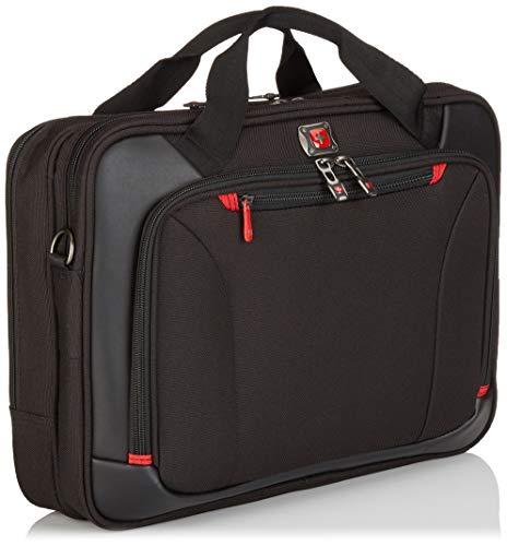 Victorinox Highwire 17″ Deluxe Laptop Briefcase, Black, Inch