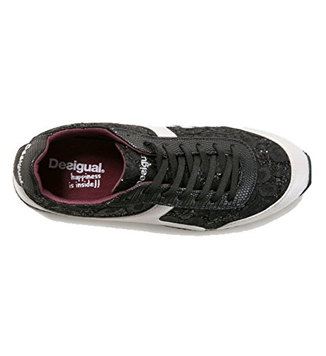 Delle Women's Galassia Nera Lace Donne 5 Desigual Galaxy Lace Nero Formatori Formato 3 3 Black Formatori 5 Uk Uk Up Size Trainers Trainers Desigual Black Up qZX6Zz