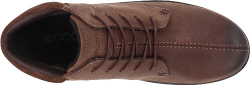 Ecco ECCO CLAY 212563 - Zapatos casual de cuero para mujer Marrón