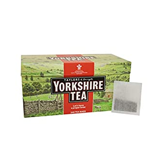Taylors of Harrogate Yorkshire Red, 240 Teabags - PACK OF 3