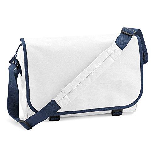 Sacoche Marine Blue Bagbase Blanc Bleu 6daU6vq