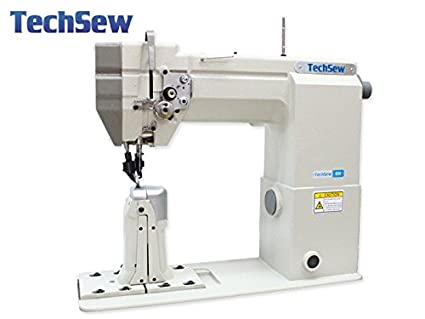 Amazon TechSew 40 Post Bed Top Bottom Roller Feed Industrial Delectable Industrial Sewing Machine Table Top