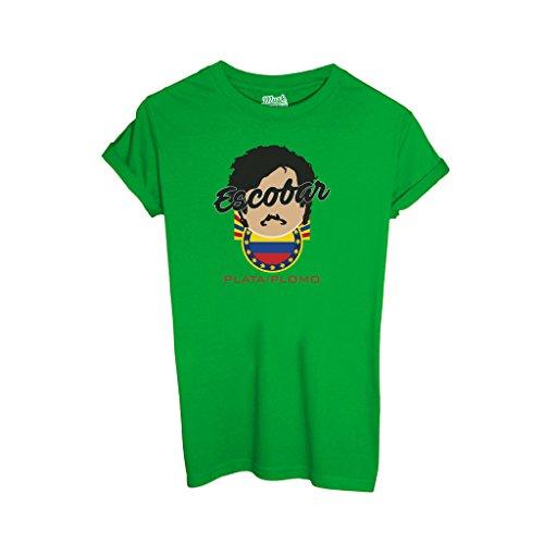 T-Shirt Escobar Plata Plomo - FILM by Mush Dress Your Style