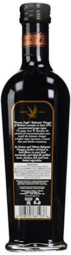 De nigris balsamic vinegar, bronze eagle, 35% grape must, 16. 9 oz 3 natural or organic ingredients