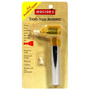 The Doctor's Tooth Polisher & Tooth-Stain Remover, 1 each