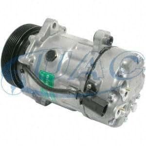 Universal aire acondicionado co1233dc nueva Compresor y embrague: Amazon.es: Coche y moto