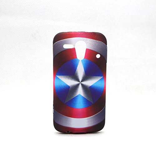 Captain America - Shield Avengers Case Shell Cover skin for Kyocera Hydro Edge C5215 ()