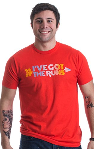 CROSS COUNTRY: I'VE GOT THE RUNS Adult Unisex T-shirt / Funny CC Runner Shirt