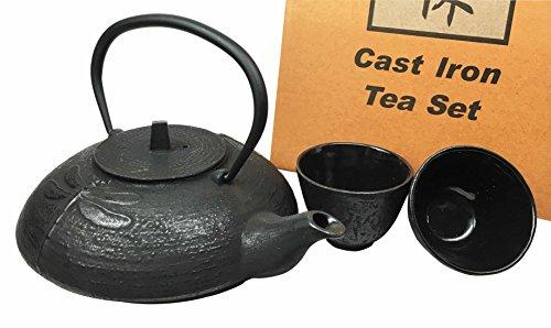 cast iron asian tea pots - 6