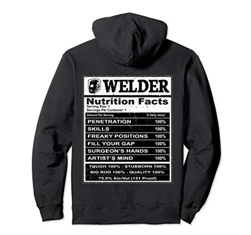 Welder - Nutrition Facts T-shirt