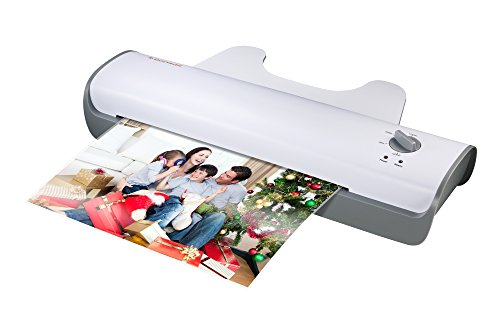 Bonsaii L307-A A3 Document Photo Thermal Laminator, Quick 3-5 mins Warm-up, Laminates Items up to 13 Inches Wide, High Laminating Speed, Jam-Release Switch (Laminator Photo Quality)