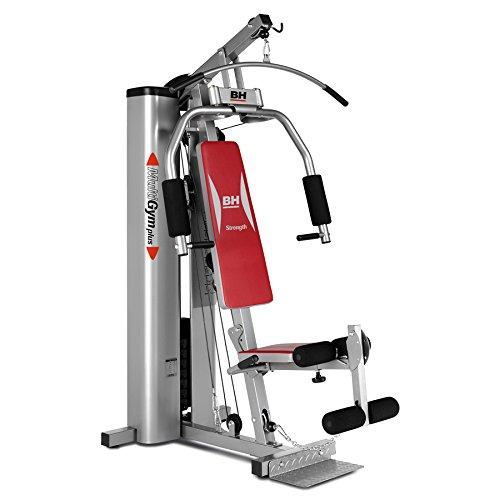 BH Fitness Kraftstationg112x Multigym Plus, silber-rot, G112X,