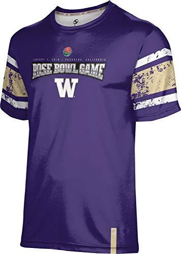 (ProSphere Rose Bowl - University of Washington Men's Performance T-Shirt (End Zone) FF06)