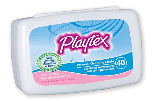 Playtex Personal Cleansing Cloths Refill Pack, Fresh Scent, 48 Count