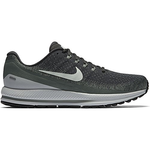 Nike Menns Air Zoom Vomero 13 Løpesko Antrasitt / Knapt Grå-leire Grønn 13,0