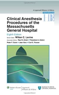 Handbook of clinical anesthesia fourth edition 9780781729185 clinical anesthesia procedures of the massachusetts general hospital department of anesthesia critical care and fandeluxe Image collections