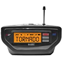 Alert Works EAR-10 Weather Alert All Hazard Radio (Black)
