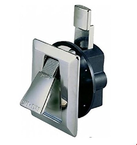 Perko 0922DP0CHR Cabinet Flush Latch (Perko Door Latch)