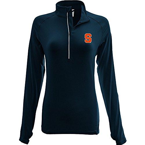 - Levelwear LEY9R NCAA Syracuse Orange Adult Women Energy Insignia Half Zip Mid-Layer, Large, Navy