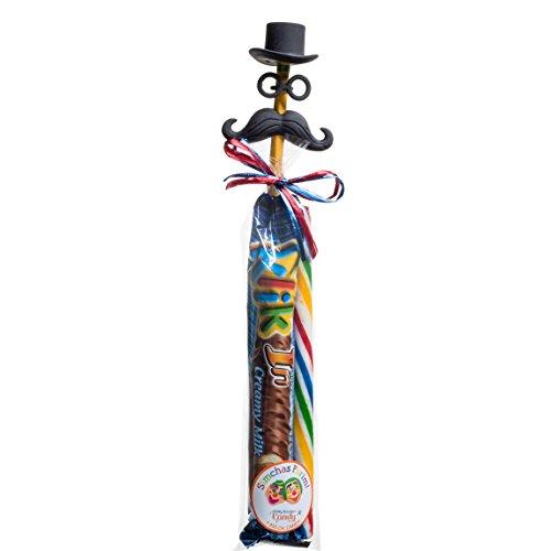 Mustachio Man Purim Pack (Pack Of 4) (Shalach Manot Baskets)
