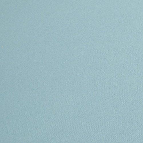 AmazonBasics Pinch Pleat Comforter Set - King, Spa Blue